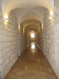 11. in ths corridor I had my room in Jerusalem