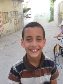 13. a smiling boy
