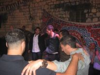 9. Palestinian dance Dabke is a part of a party.