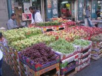 18. a lot of fruit for sale