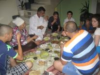 21. family at the iftar meal