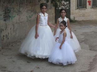 02. bridesmaids Amal, Rotaj and Razal