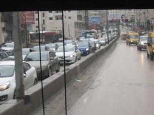 02. traffic in Ramallah