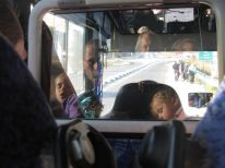 07. sleeping children in the bus