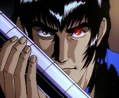 Goku Midnight Eye closeup