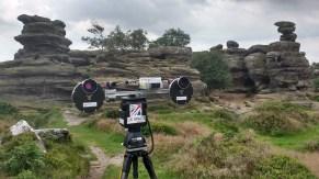 AUPE3 at Brimham Rocks, Yorkshire, 2017