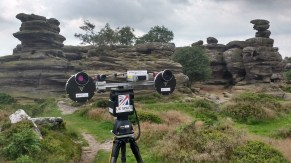 AUPE3 at Brimham Rocks, Yorkshire, 2017