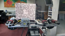 Intrinsic and extrinsic geometric calibration of AUPE's camera systems