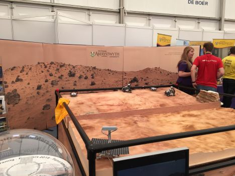 Martian Terrain at the National Eisteddfod of Wales 2015