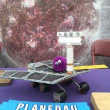 3D printed NASA MER at the National Eisteddfod of Wales 2016