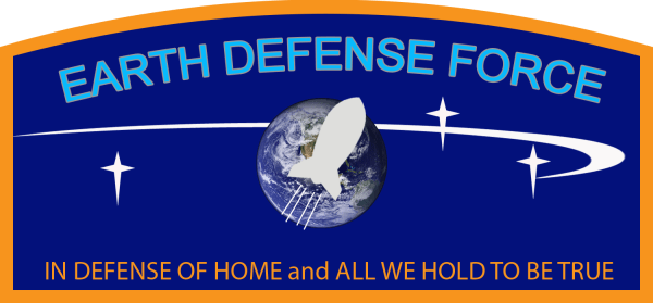 3 Earth Defense Force Logo