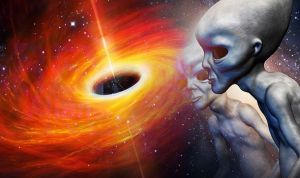 Alien Civilizations Might Be So Advanced That They Might Use Black Holes To Power Their Spaceships