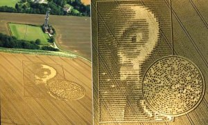 University Mathematician Decodes the Crop Circle With a Binary Code & Extraterrestrial Face