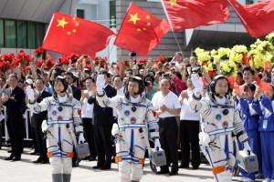 China Leads Charge in Space Race
