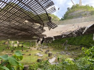 More Damage at Arecibo Alien-Hunting Facility