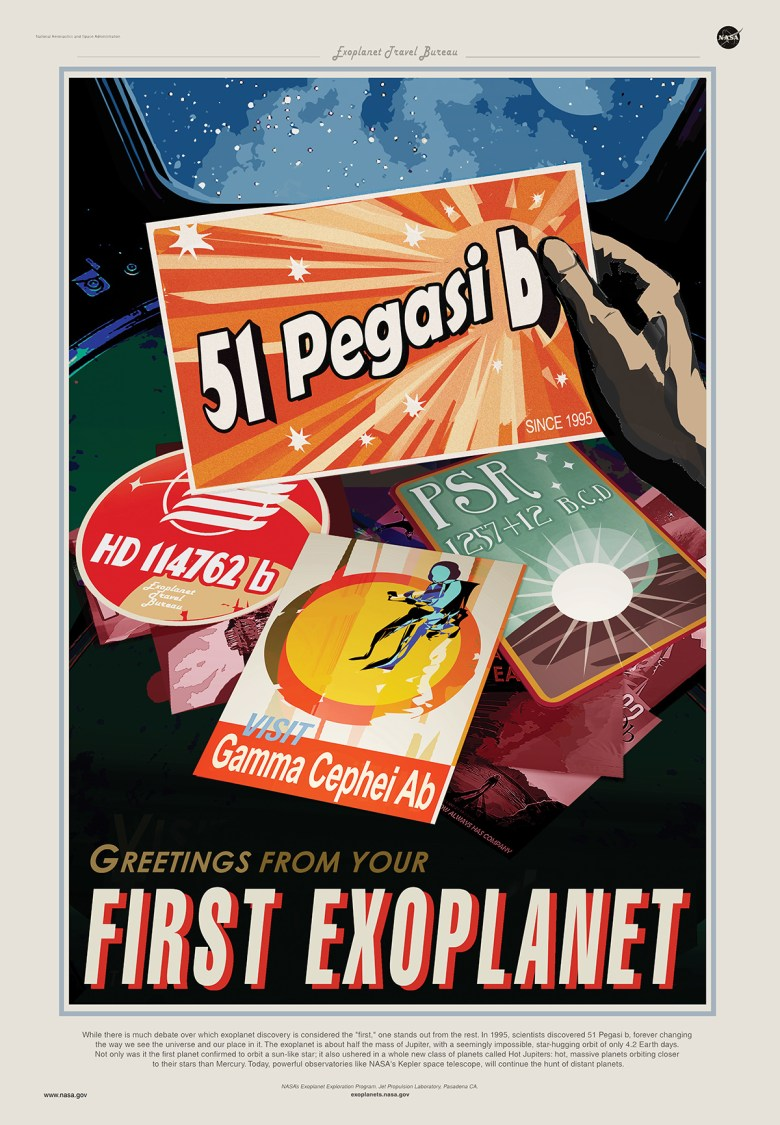 Greetings from your First Exoplanet