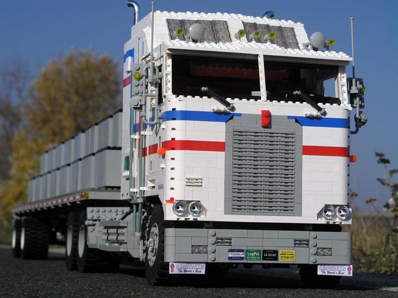 Camiones De LEGO Hiperrealistas Expolis