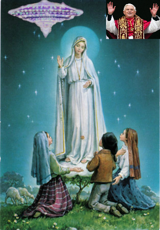Martian apparition at Fatima was an extraterrestrial encounter
