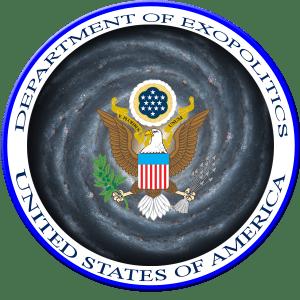 Mock up of a Department of Exopolitics Logo. Credit: Exopolitics.org