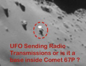 Comet 67 P UFO