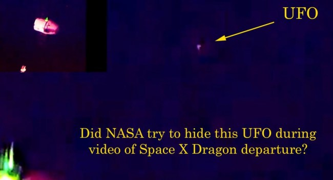 NASA covering up UFO