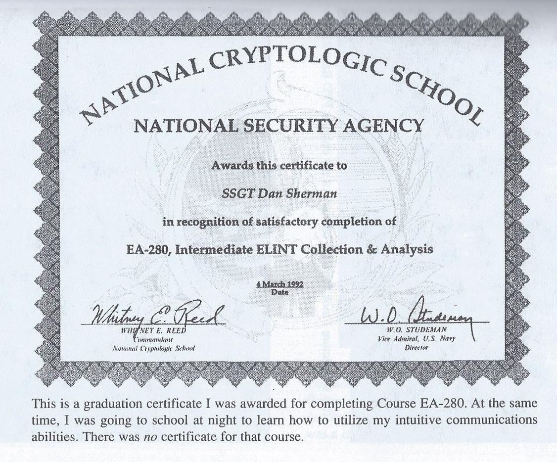 National Security Agency Exopolitics