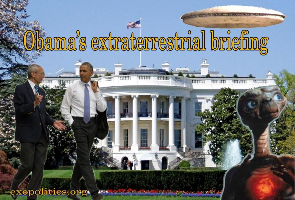 Obama briefed on ETs