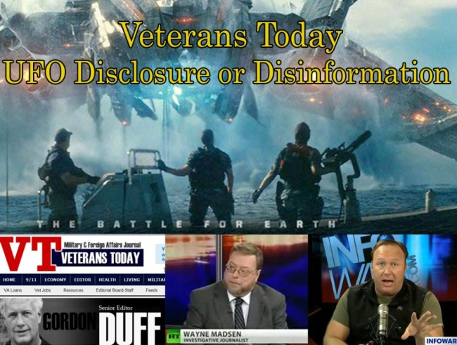 Veterans Today UFO disclosure