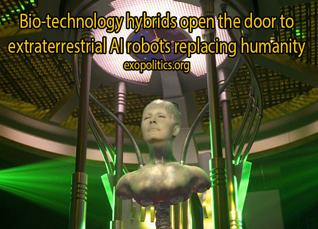 Borg_Queen-hybrids replacing humanity