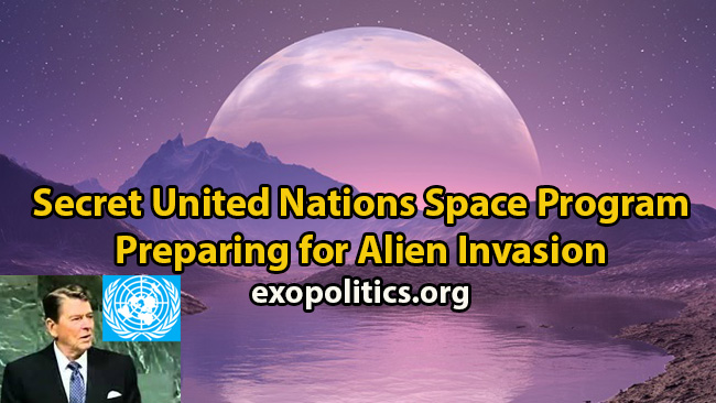 UN Space Program and alien threat