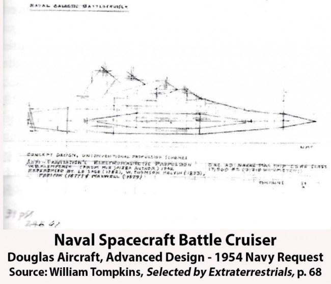 Naval Spacecraft Battlecruiser