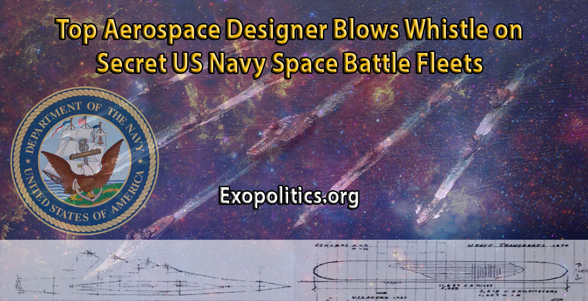 Top Aerospace Designer Blows Whistle on Secret US Navy Space