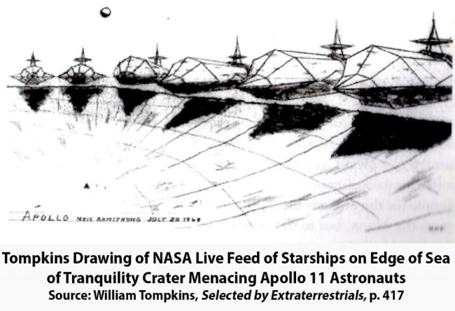 Starships menacing Apollo 11 Mission