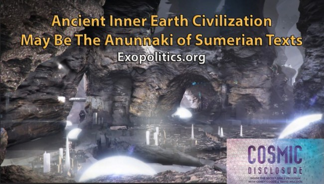 Inner Earth Beings are Anunnaki