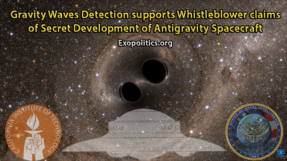 Gravity Waves Detection supports whistleblower claims of secret
