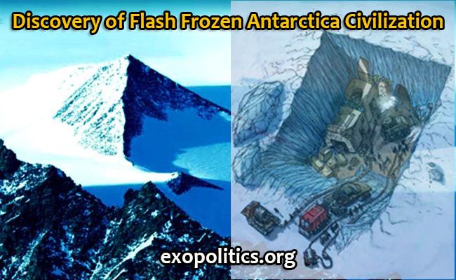 Discovery of Flash Frozen Antarctica Civilization ... Mayan Civilization Artifacts