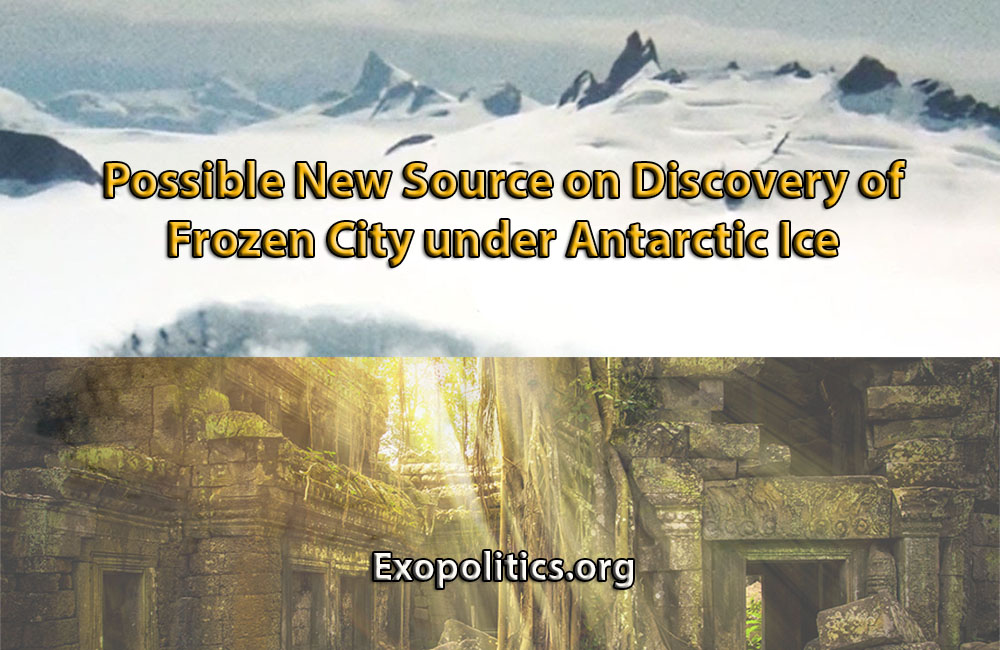 Possible New Source on Discovery of Frozen City under Antarctic Ice