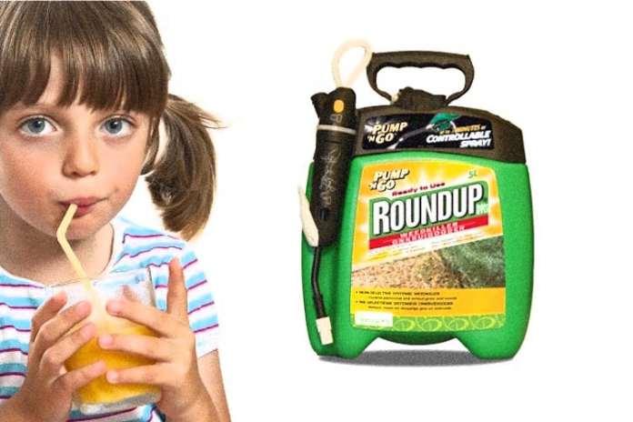 SANTE Orange-juice-glyphosate