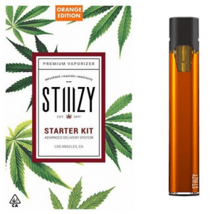 Stiiizy battery starter orange