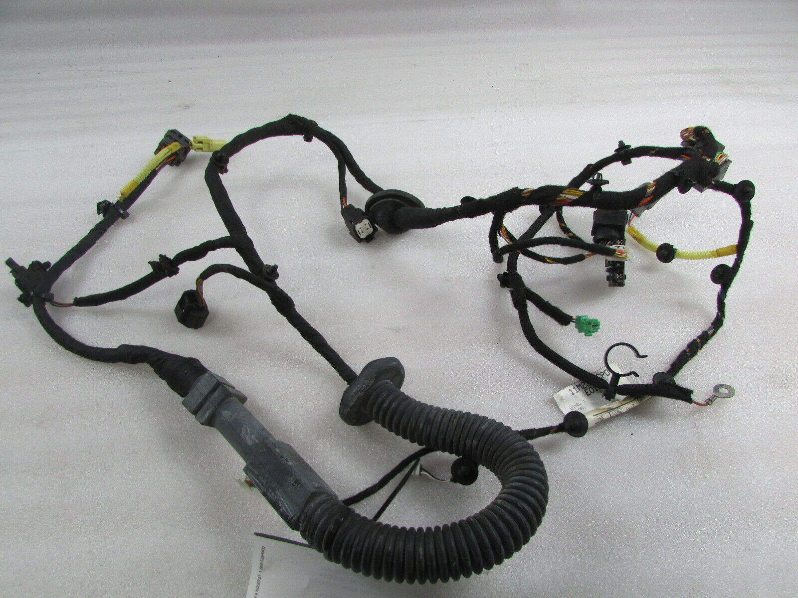 hight resolution of mclaren mp4 12c spider lh left door wire harness used p n 11m2395cp exotic auto recycling