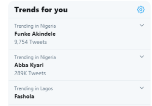 Funke Akindele trends on twitter | www.exoticempire.com.ng