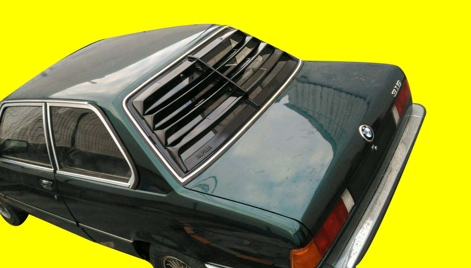 hight resolution of fits bmw e21 louver alpina fiber glass