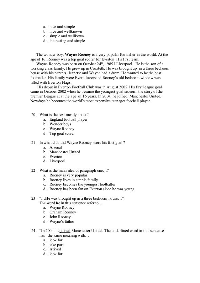 Contoh Soal Report Text : contoh, report, Deskriptif, Pilihan, Ganda, Serta, Jawabannya, Exoticfasr