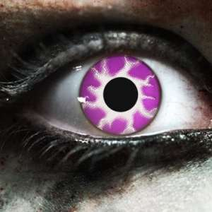 Purple Tempest Gothika Contact Lenses