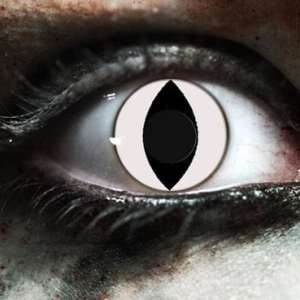 White Cat Gothika Contact Lenses