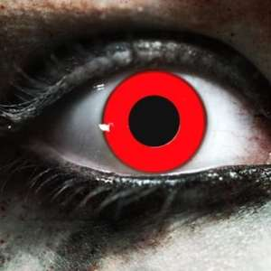 Red Vampire Gothika Contact Lenses