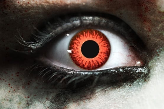 Zombie Rage Gothika Contact Lenses