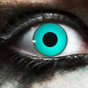 Zombie Blue Gothika Contact Lenses