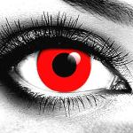 Gothika Red Vampire Contact Lenses