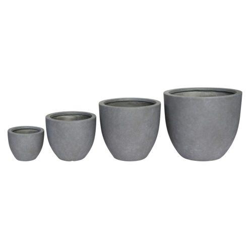 Fiber clay Planter Pot exoticplantsouq.ae